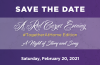 A Red Carpet Evening, A Night of Story and Song, Saturday February 20, 2021