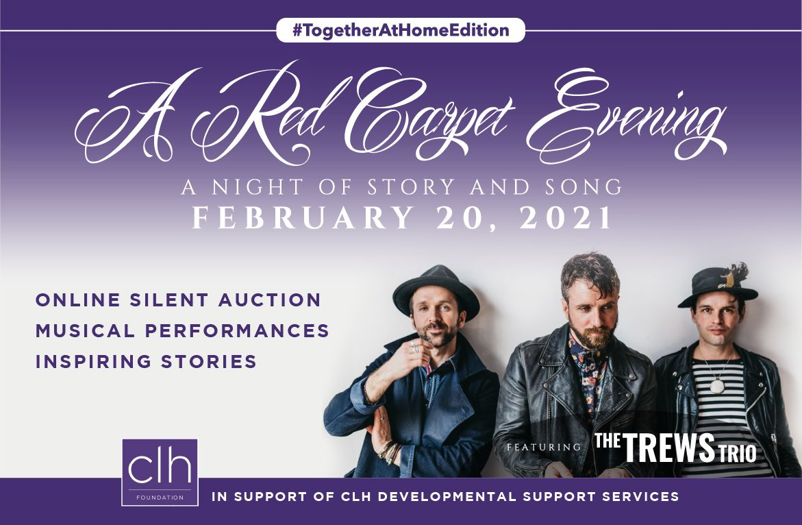 A Red Carpet Evening - A Night of Story and Song - February 20, 2021 - Featuring the Trews Trio