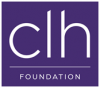 the words CLH Foundation on purple background